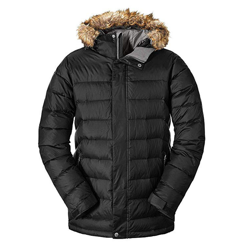 New Winter Coldproof Thick Down Jacket Men Warm Waterproof Male Fashion 90% White Duck Down Coat Long Down Hood Parkas To Produce An Effect Toward Clear Vision Jackets & Coats