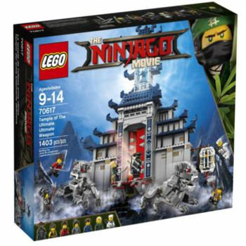 New Arrived Set 70617 Ninjago Movie Temple The Ultimate