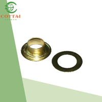 Curtain Rod Accessories 7mm Brass curtain rings eyelet for curtain