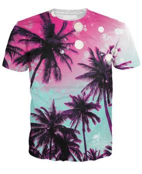 4c8a3e1ca Palm Candy Design Sublimation t-shirt/3d dye sublimation t-shirt/customized