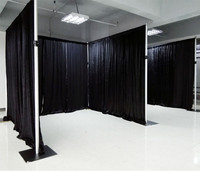 Hot sale Pipe And Drape Trade Show Display Exhibition Booth for sale