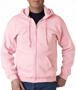 Fashion Streetwear OEM Custom Design Front Zipper Pullover Slim Fit Men Long Sleeve Hoodies, polar fleece jacket