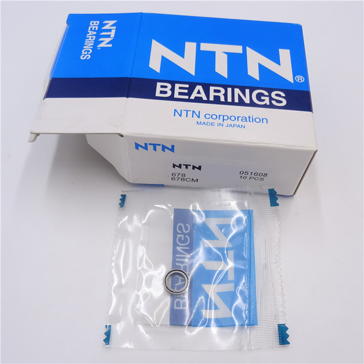 3d printer machine NTN brand thin section deep groove ball bearing 678