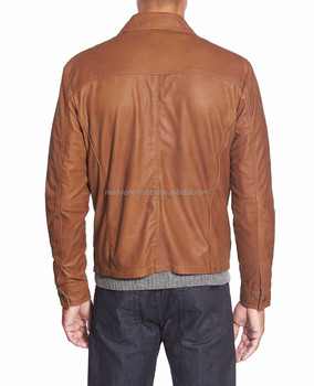 Rebel Rider Cafe Racer Leather Motorcycle Jacket Classic Fashion