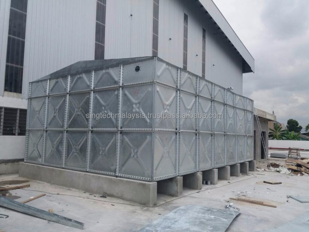 STI HOT DIPPED GALVANISING large WATER TANK