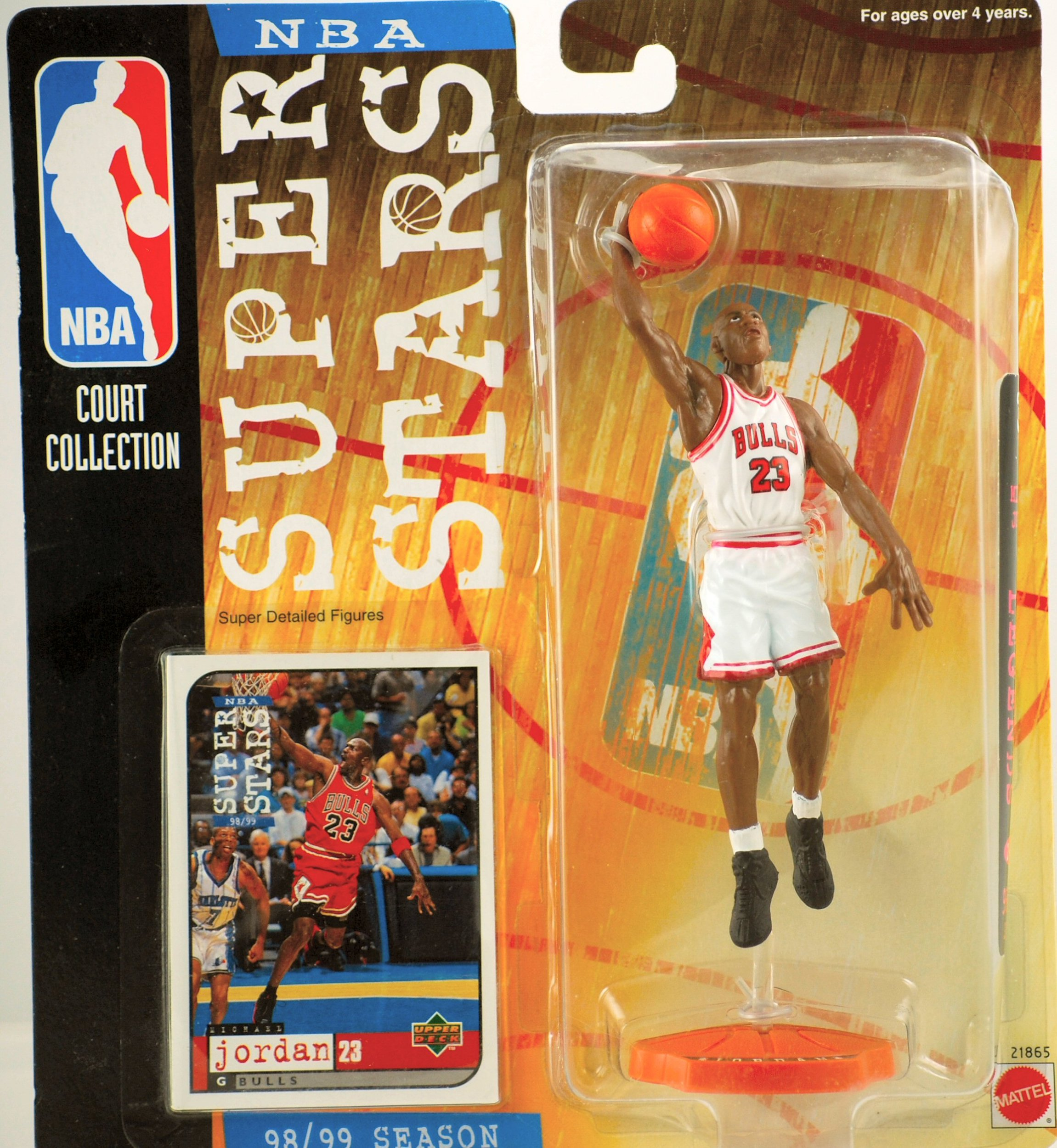 9598d2095f9c8e Buy NBA Michael Jordan Home White Jersey 1 6 Figure with Air Jordan ...