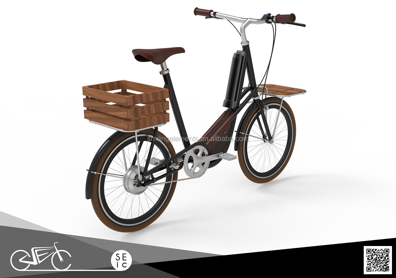 Hot selling 250w 36v 20 inch e bike City electric bicycle for lady
