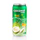 330ml Canned Coconut water with Orange flavour king coconut water