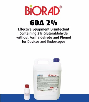 GDA 2 Effective Equipment Disinfectant Containing Glutaraldehyde Without Formaldehyde And Phenol For