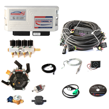 Diesel engine to LPG autogas conversion kit AC STAG