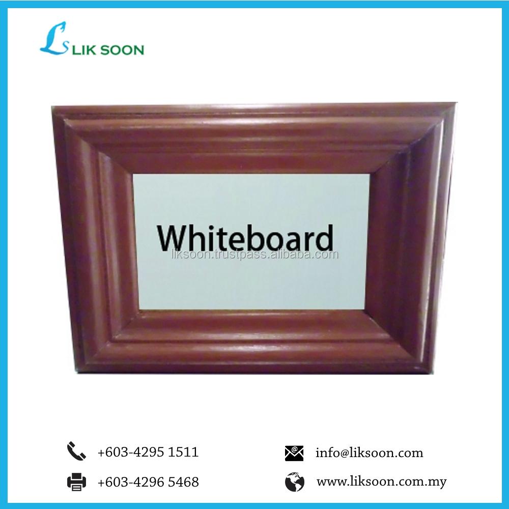 Single Sided Magnetic Whiteboard (wooden Frame) - Buy Magnetic White ...