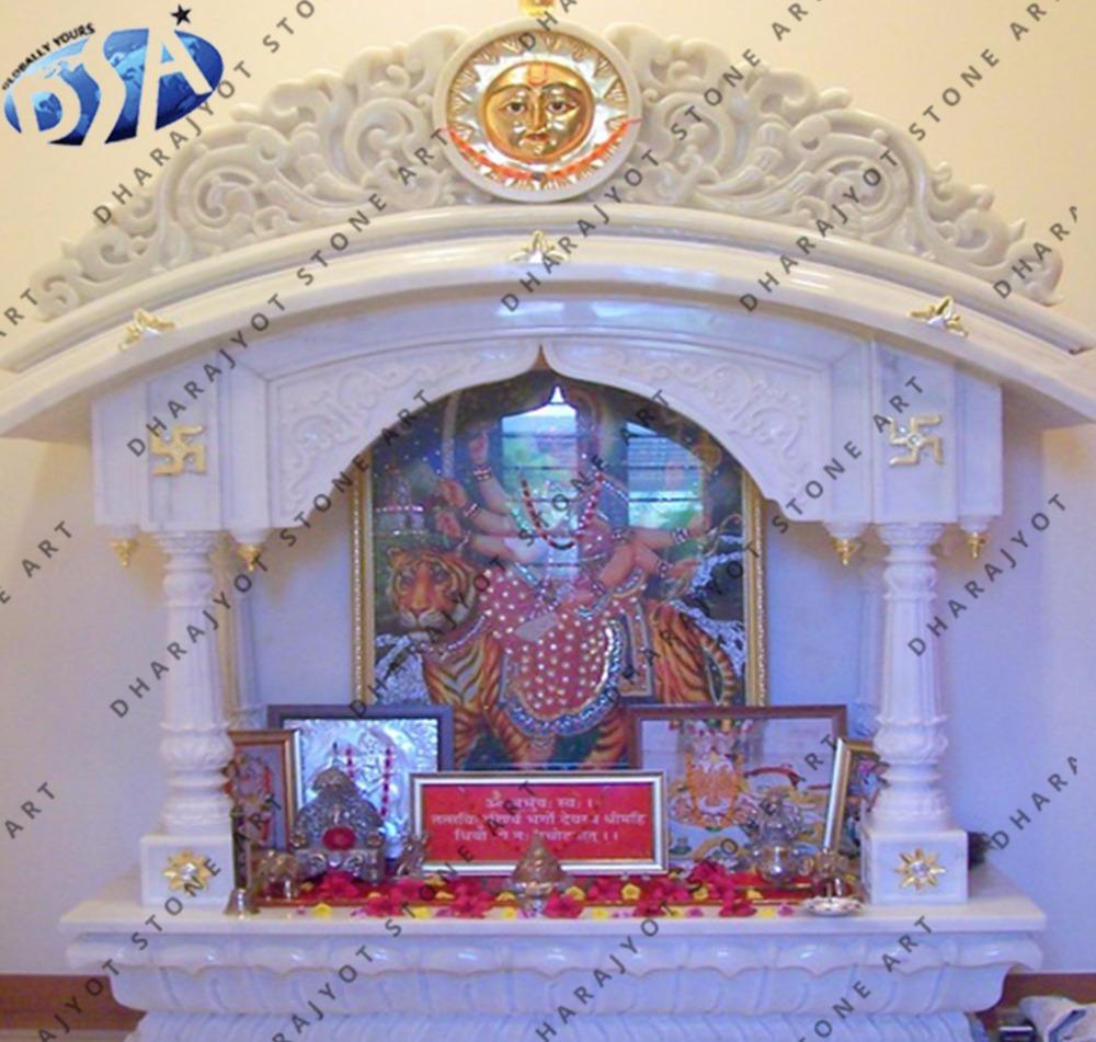 White Marble Antique Design Temple Mandir Buy Decorative Ma Durga