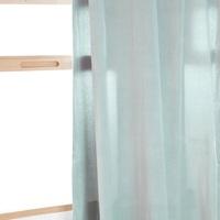 100% Polyester Plain Sheer Curtain Design in Many Colors