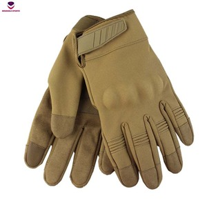 Brussels SportsTactical Gloves Military Army Anti-skid Armor Protection Shell Full Finger Gloves