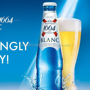 Kronenbourg (1664) Beer 330ml Bottle & Can