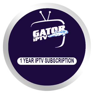 12 months IPTV Subscription for Android BOX Smart tv M3U Engima2 us europe arabic Gator Iptv with free test