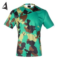 camo printed beautiful sublimation jersey / football camouflage printed soccer jersey