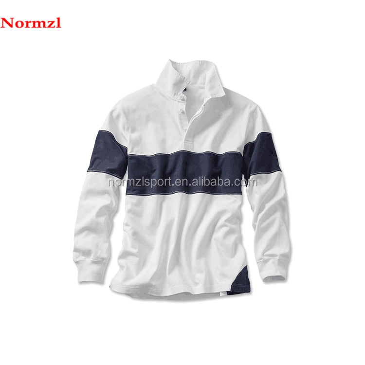 long sleeve sublimation men  rugby jersey customized