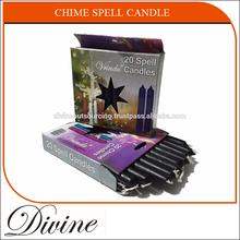 High Quality 4 inch Colorful Chime Spell Candle at Wholesale Price
