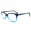 High Quality Square Glasses Double Color Fashion Frame Optical Acetate Eyeglass Frame