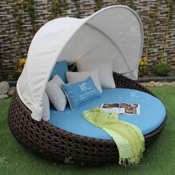 Design Élégant Pe Rotin Transat Ou Méridienne Pour  Extérieur/jardin/patio/plage/station/piscine- Style 3 - Buy Design De Luxe  Chic,Bain De Soleil Rond ...