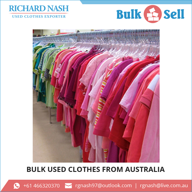 Excellent Quality Used Clothes Bales from Australia