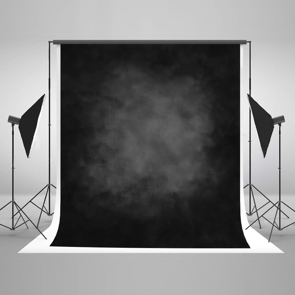 Kate 5x7ft Black Master Photography Backdrops Abstract Background Booth for Photography Props without Wrinkles