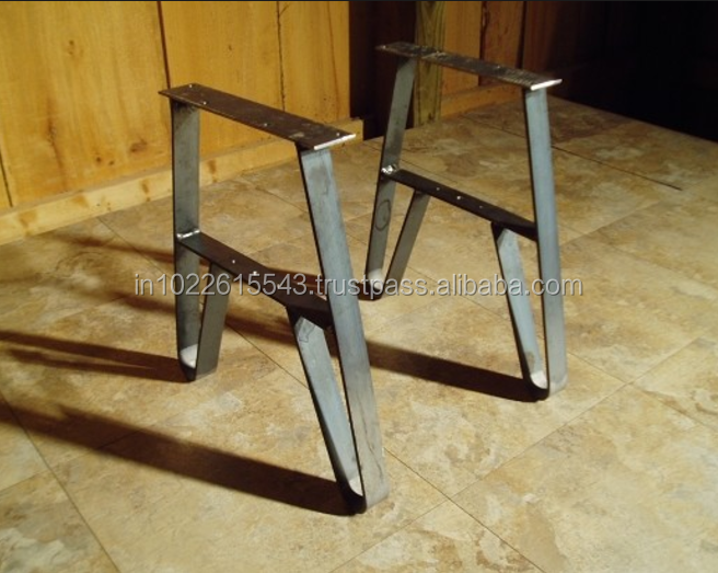 Machine Cast Iron Dining Table Legs Removable Leg For Product On
