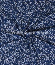 Indian Hand Block Print Cotton Voile Fabric Upholstery Cloth Making Printed Fabric By Yard