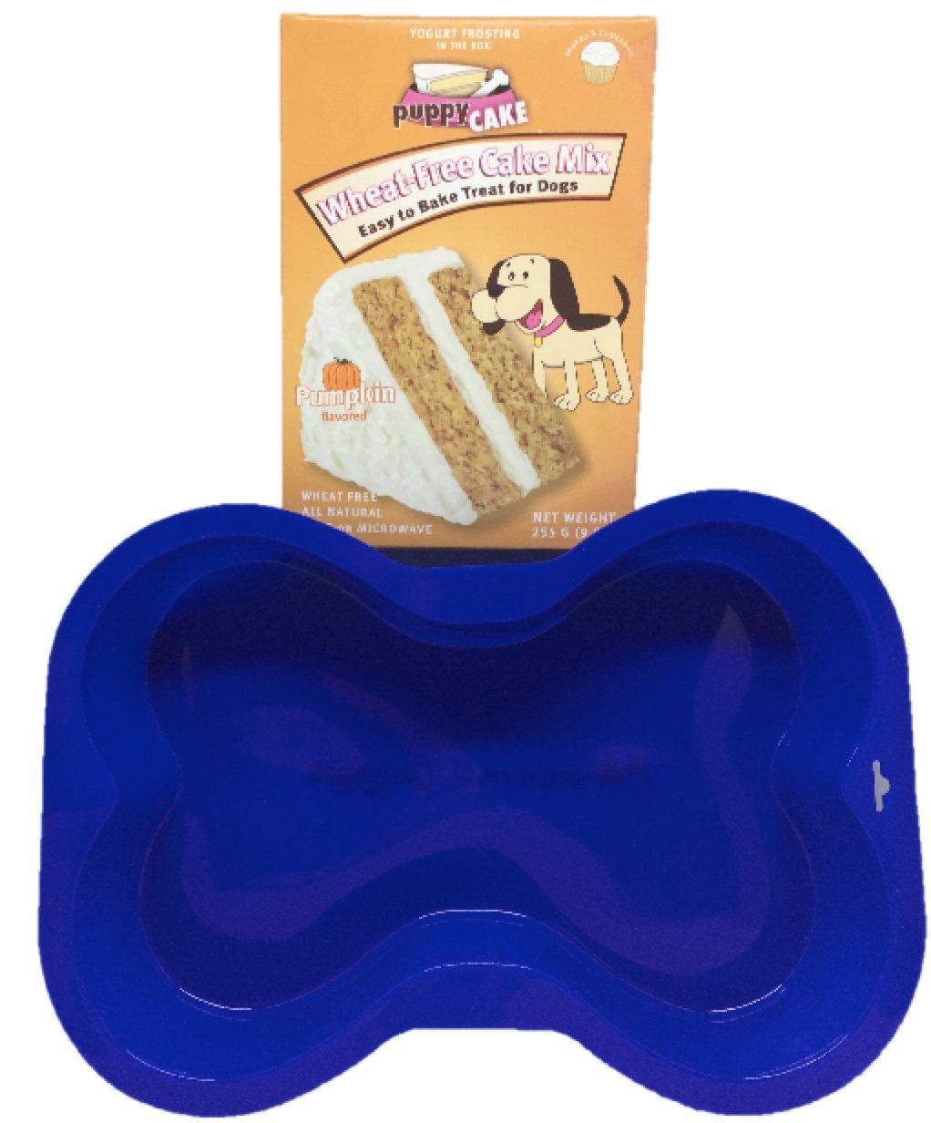 Pawsome Doggie Dog Bone Cake Pan & Puppy Cake Mix