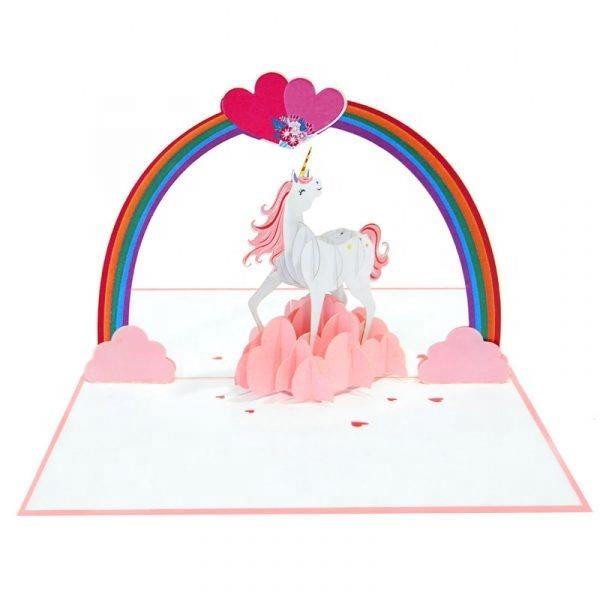3D pop up flamingo card handmade postcards laser cut greeting cards SU
