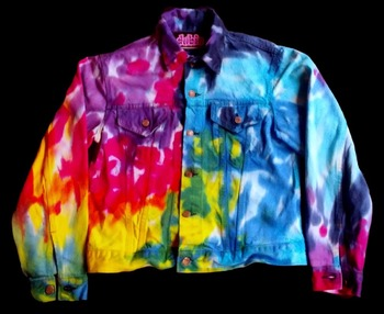 Apparel Tie on Buy Dye Jean American Product Giacca Arcobaleno dX7vpwwq