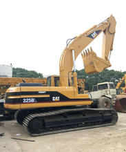 Second hand/Used/old CAT 325b excavator,caterpillar used 325b excavator machines