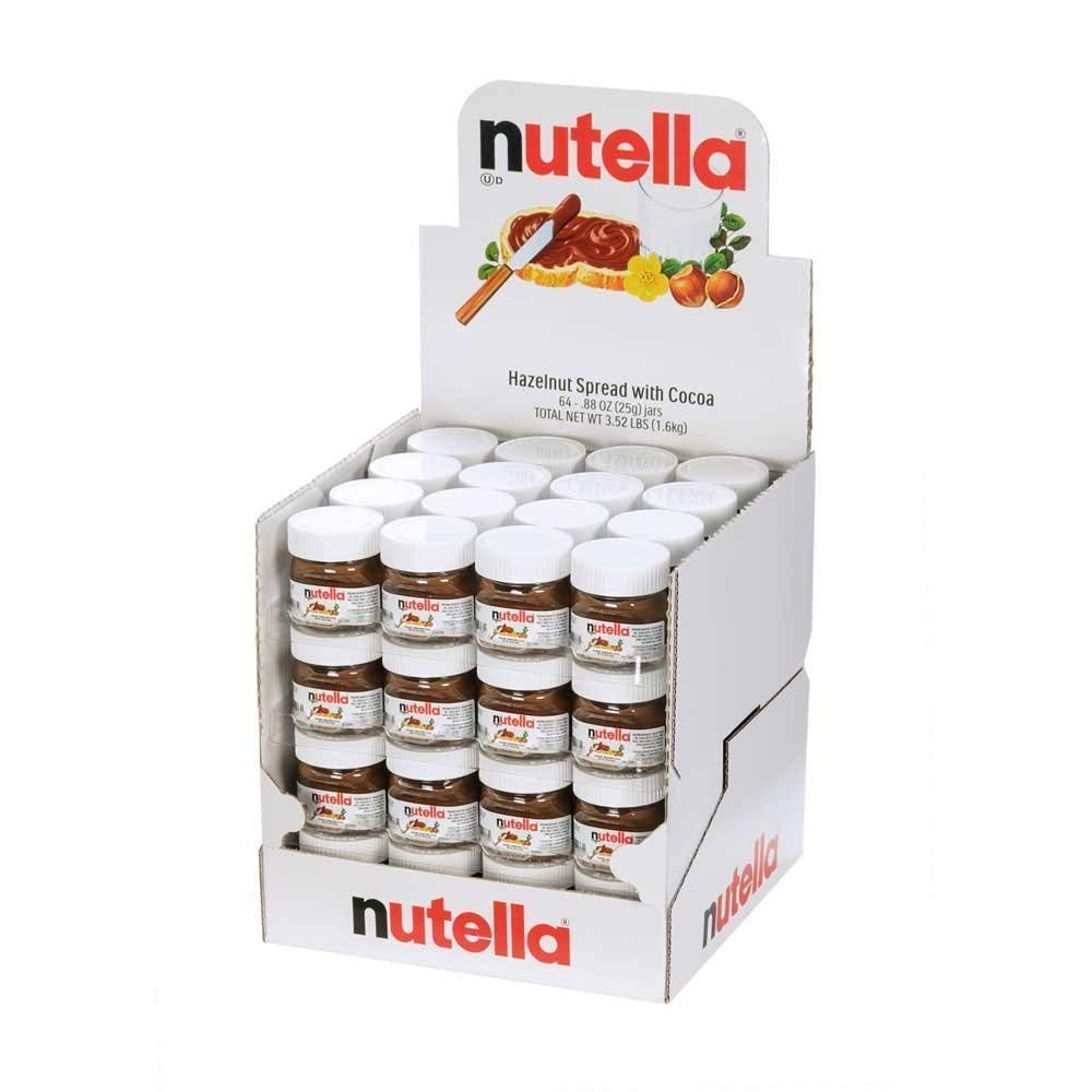 Ferrero Nutella Mini 25g Chocolate - Buy Ferrero Nutella Mini 25g,Nutella  25g,Nutella Chocolate Spread Product on Alibaba com