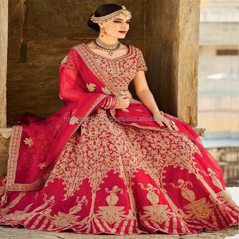 Indian Wedding Lehenga Saree Designer Bridal Blouses Designs