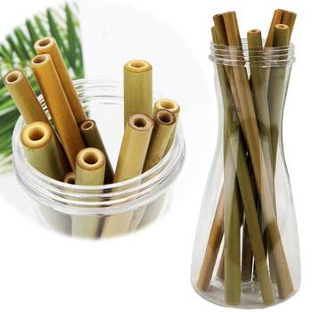 Natural Biodegradable Bamboo Drinking Straws
