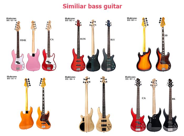 Trung Quốc Bán Buôn 5 Strings Guitar Bass Điện
