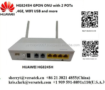 Hg8245h Gpon Onu (home Gateway With 2 Pots,4ge,Wifi,Usb And More) )