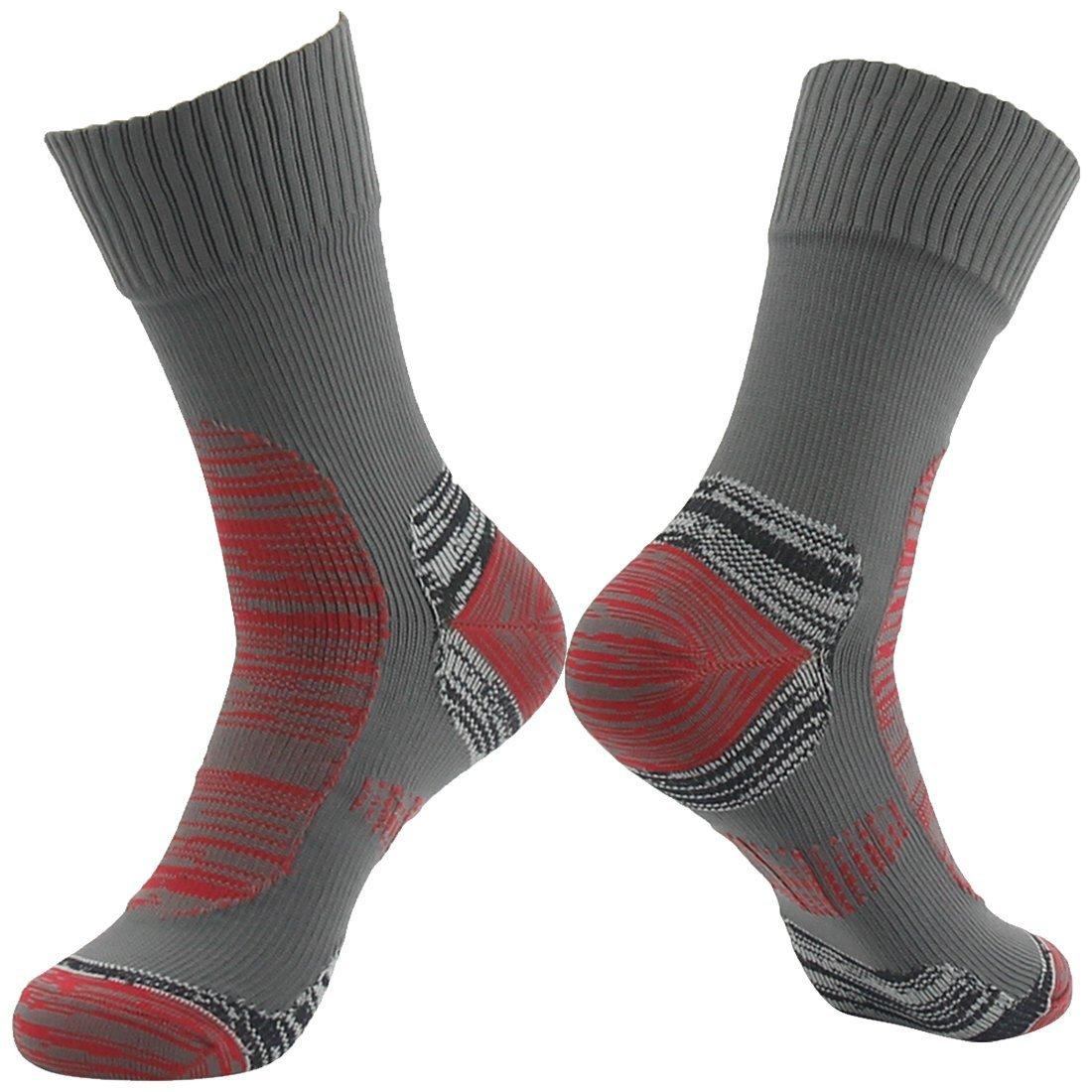 [SGS Certified] RANDY SUN Unisex Breathable Ventilated Skiing Trekking Waterproof Sock