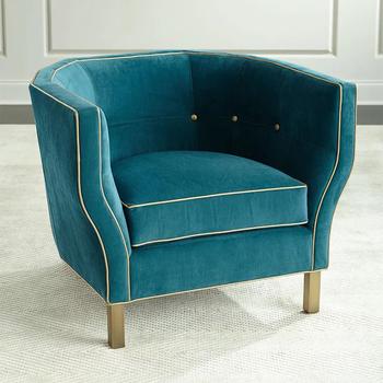 Ty131 Hotel Furniture Italy Style Velvet Sofa Vip Chair Design Set Latest  Design Hall Sofa Set Round Sofa Single Chair - Buy Single Seater Sofa ...