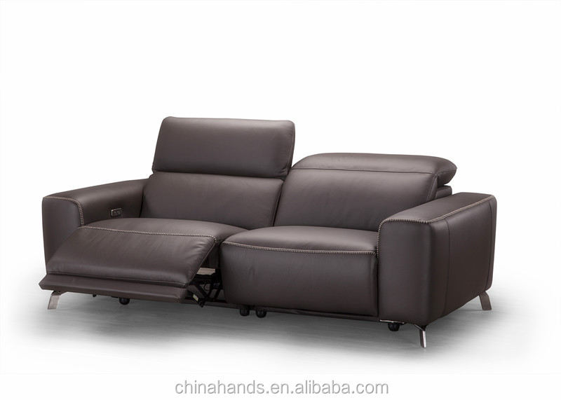 MA-RM02 Modern Design Leather 3 Seater Electric Recliner Sofa