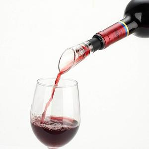 Red Wine Whiskey Bottle Pourer Spout Decanter Mini Travel Bar Tools Decanter Spout