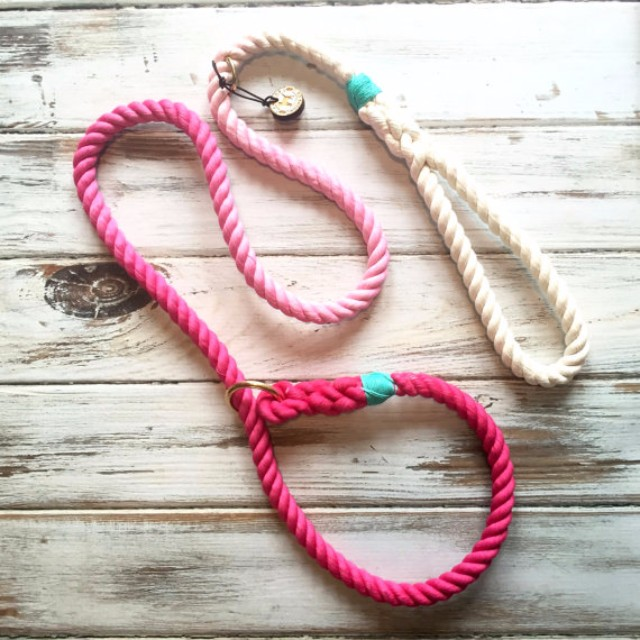 Eco-Friendly Dog Cotton Rope Leash