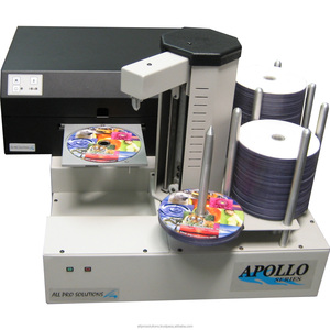 All Pro Solutions Apollo PA4-H PC-Connected Network CD DVD BD Printer Autoloader w/ SpeedJet Inkjet Printer & 220 Disc Capacity