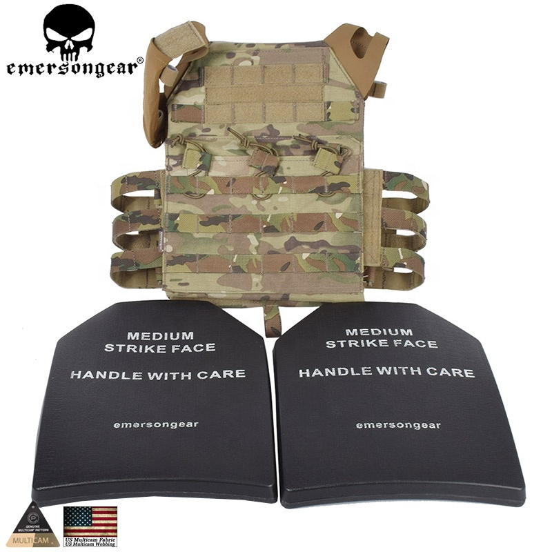 TACTICAL ARMY COMBAT VEST MOLLE II MODULAR SYSTEM MILITARY PLATE AIRSOFT BLACK
