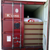 Base Oil Bulk Package Flexi bag 24000 liter 20ft container flexitank