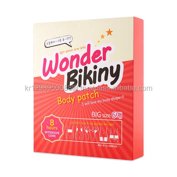 Hot sale burn fat weight lose Wonder Bikini Diet Patch slimming made in Korea
