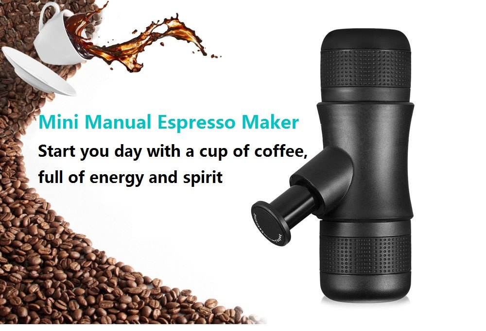 Travel Coffee Maker ,Portable Coffee Maker,Mini Manual Espresso Machine ,Manual Pressure Coffee Maker[No Battery,No Electronic Power Required] for Travel Office Home OutdoorBy MODAR