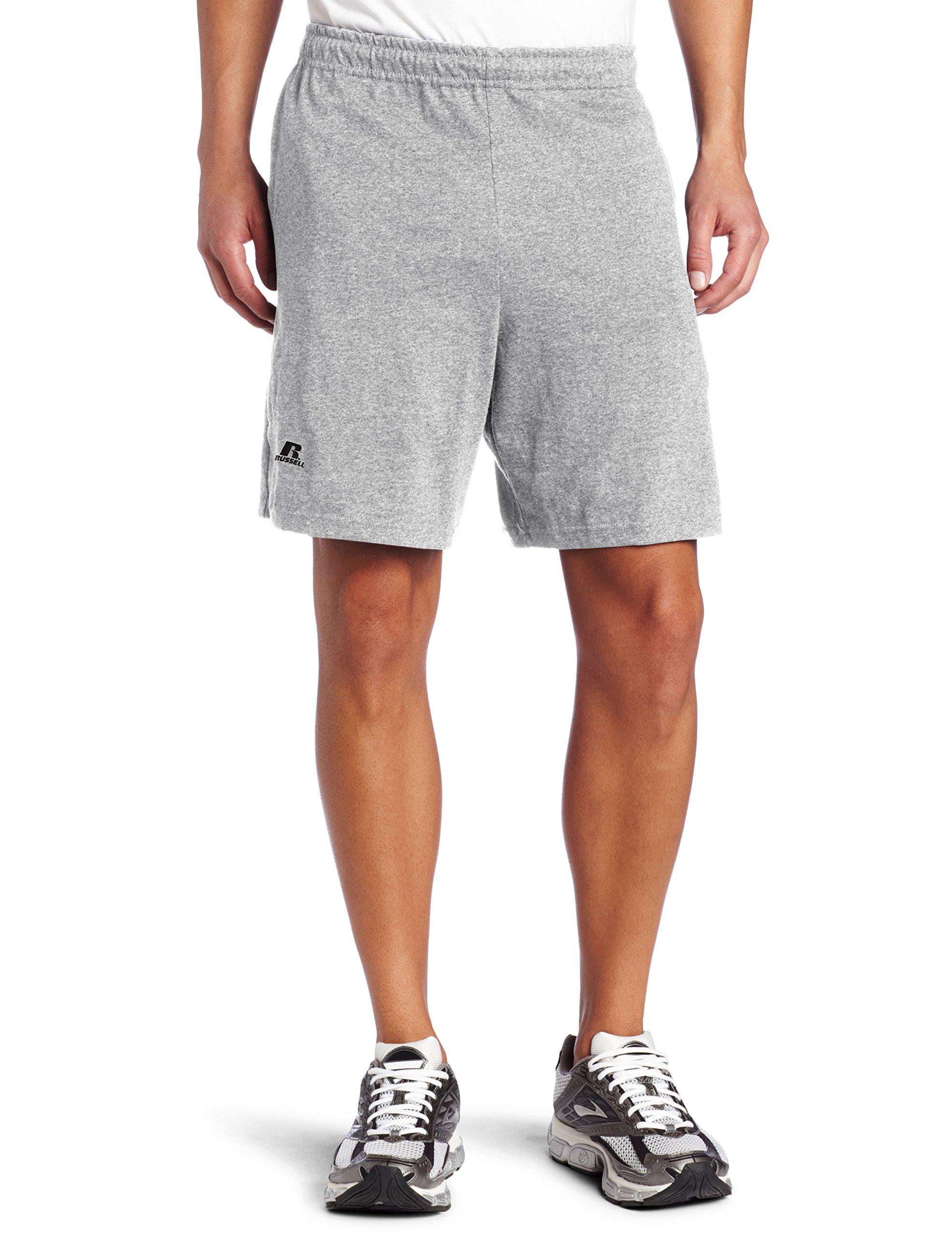 a0e0ba7e7c Get Quotations · Russell Athletic Men's Cotton Performance Baseline Short