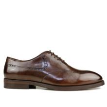 VIKEDUO Luxus Handgemachte Herren Derby Schuhe 100% Echtem